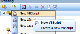 Create a new script