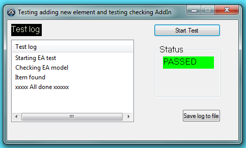 AutoIt based GUI Tester presents a friendly test tool