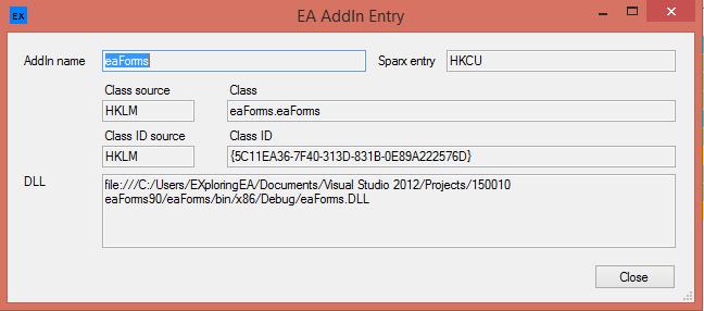 EA Installation Inspector V2 Pop-Up