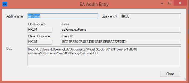 EA Installation Inspector V2 Pop-Up